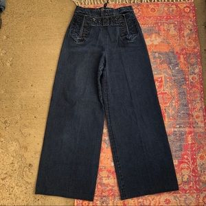 Vintage Ralph Lauren High Waist wide leg jeans